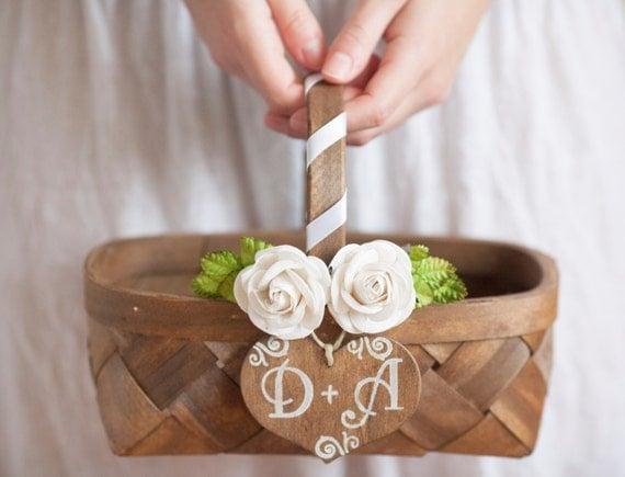 Flower Girl Basket Modern : Unavailable listing on etsy