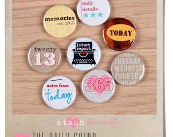 Boutique Buttons (The Daily Grind)