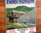 Vintage Field & Stream April 1963 Bass Fishing Hunting
