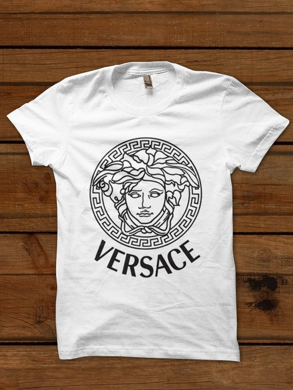items similar to versace shirt versace tshirt t shirt tee t shirt top tank oversize unisex on etsy. Black Bedroom Furniture Sets. Home Design Ideas