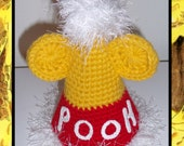 Winnie the Pooh Inspired Birthday Hat