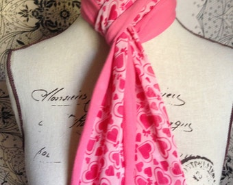 "Girls Multi-Colour Scarf. This Design is Called the ""Lottie"""
