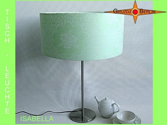 table lamp green isabella damask lamp mint green. Black Bedroom Furniture Sets. Home Design Ideas