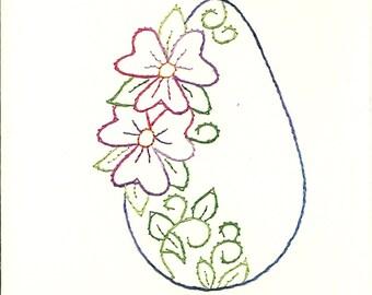 Easter Flower egg 2