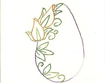 Easter Flower egg 3