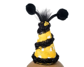 Bee Party Hat Bumble Bee Themed