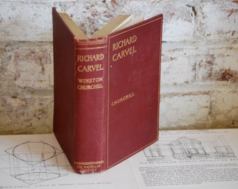 Antique Book, Richard Carvel by Churchill