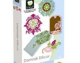 Damask Decor, NEW Cricut Cartridge