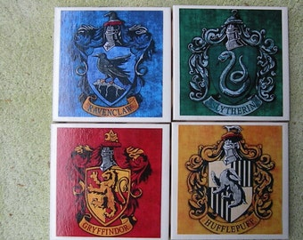 Set of 4 Harry Potter Character Coasters