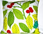 Cotton linen square pillow case