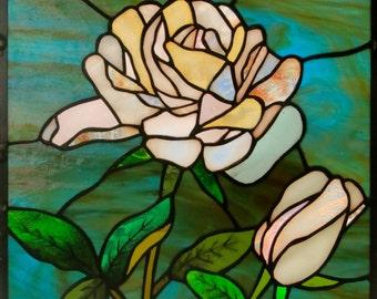 Rose Petal Window