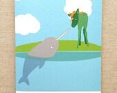 Unicorn Inspiration Postcard A6