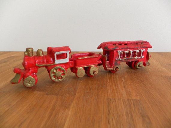 Nycrr Cast Iron Train: Cast Iron Toy Train