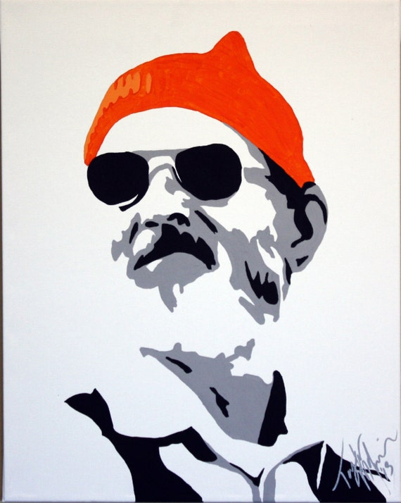 Bill Murray Stencil