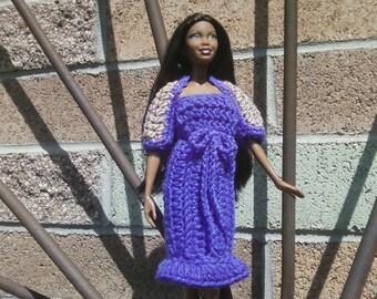 Crochet Barbie Dress and Shrug