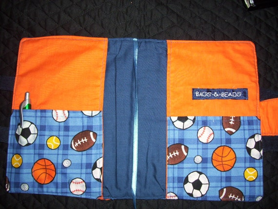 boys u0026 39  sports bible cover with soccer football