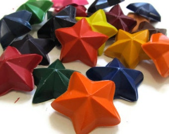 Star Crayons set of 10 - party favors