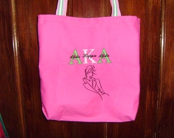 Free personalizing AWESOME AKA tote