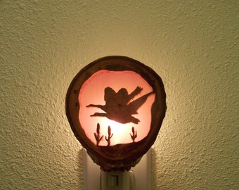 Flying Geese nightlight