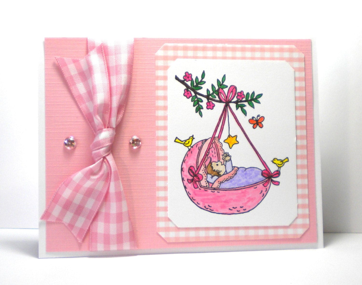 New greeting card message for new baby girl greeting for girl card baby new message girl customcardsbybonnie a girl by greeting its baby newborn m4hsunfo