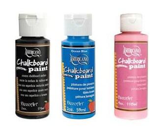 Decoart Americana Chalkboard Paint, 2 oz ,59 ml