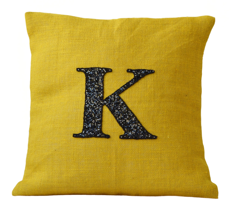 Monogram Throw Pillow Etsy : Personalized pillows Monogrammed pillows Personalized burlap