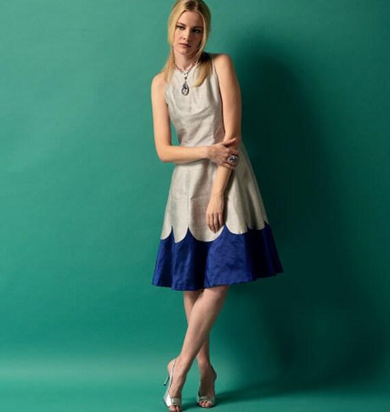 Butterick 5894 Dress Sewing Pattern Summer Dress Pattern Size
