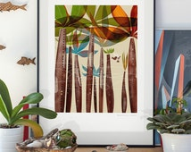 Salesman. lllustration art giclée print signed by Pawel Jonca (me). A2 poster.