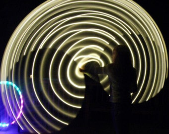 "28"" - 71cm Cosmic Halo by Colorado Hula Hoops - Rechargeable LED Hula Hoop"