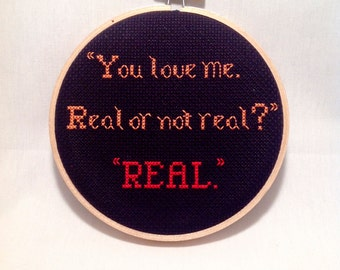 Hunger Games Quote Hoop Art, Geeky Pop Culture Gift, Book Nerd