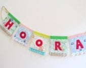 Hooray Party Banner - party decor, room decor, photo prop, nursery decor, shower, wedding, birthday party