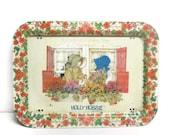 Vintage Holly Hobbie TV Tray, Holly Hobbie Tray