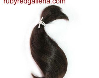 BD0006M2 Dark Brown Curve NuBorn Mohair 0.25 oz