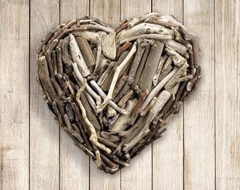 Driftwood Hanging Heart