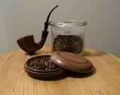 Black Walnut Pipe Tobacco Travel Pouch (Baccyflap)
