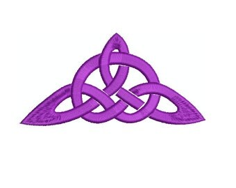 Machine Embroidery Design Instant Download - Celtic Knotwork Triangle 2