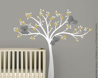 Modern Koala Cuteness Wall Decal by LittleLion Studio