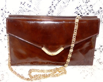 Vintage Brown Varon Purse