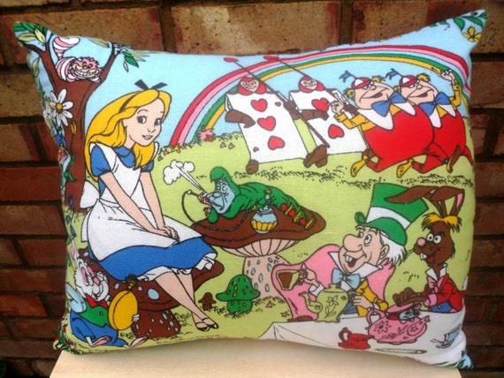 Vintage Alice In Wonderland Fabric 61