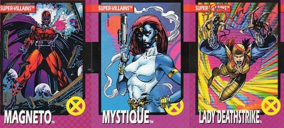 x Men Trading Cards 1992