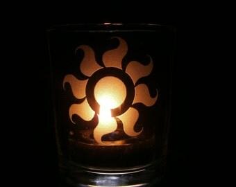 Celestia Cutie Mark-Candle Holder