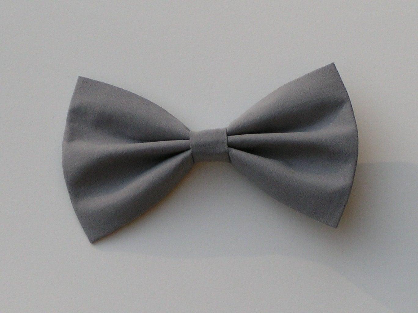 Black bow hair accessories - Grey Hair Bow Hair Bows For Girls Girls Hair Clips
