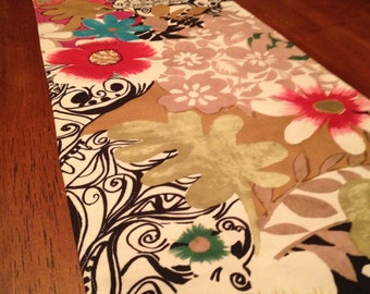 Funky and fresh table runner
