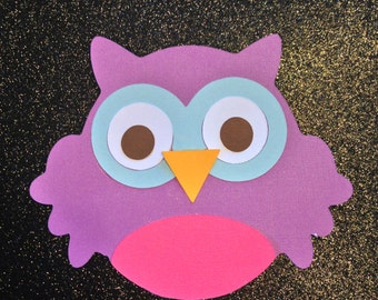 Owl Cut Outs Die Cuts for Centerpieces, Scrapbook, Decorations and More
