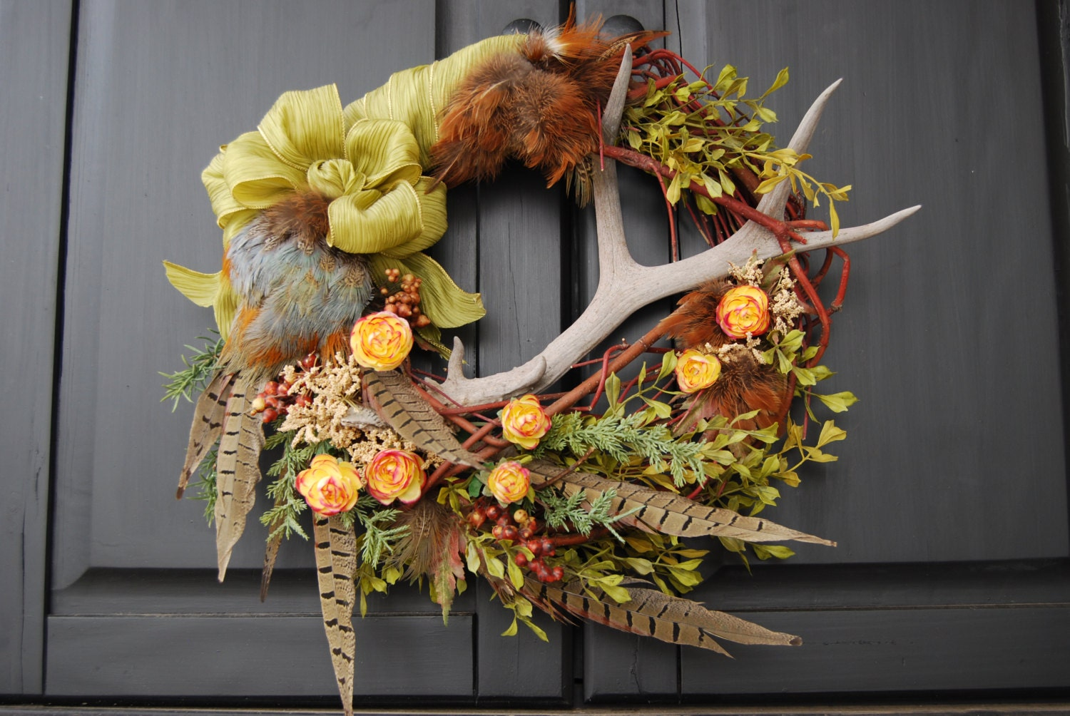 Faux Christmas Wreaths