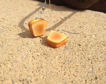 Grilled Cheese Sandwich Earrings