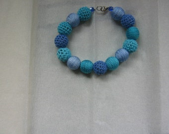 Colourfull blue bracelet
