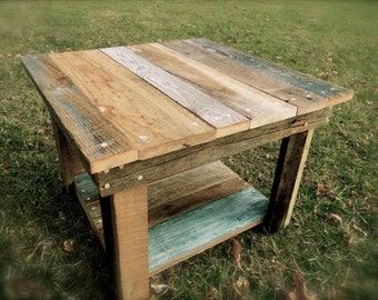 Barnwood coffee table (Kennedy Collection)