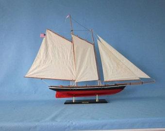"America Model Racing Yacht 50"" Sailing Boat Models / Sailboat models Yachts / America's Cup Racing Schooner"