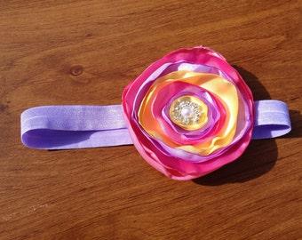 Spring blossom headband